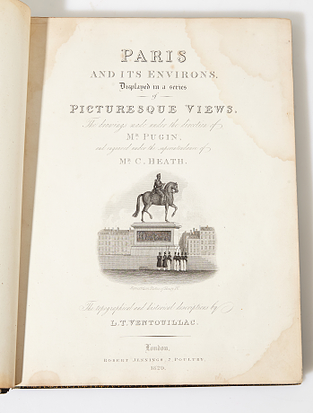 Paris in steel engravings 1831