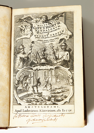 Grotius history of the Goths 1655