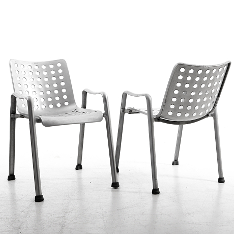 Stolar Landi design Hans Coray