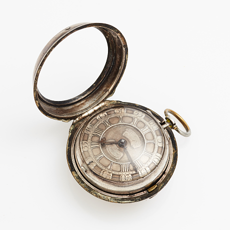 John Ellicott mens pocket watch