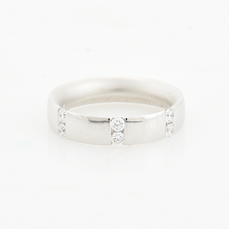 Ring med diamanter ca 0.30 ct 18K