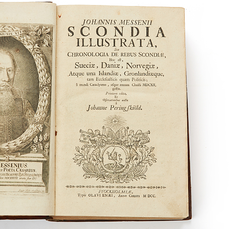Messenius Scondia illustrata 1700-05