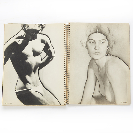 Formes Nues with images of nudes by Man Ray a.o.
