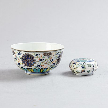 Bowl and box (Selected)