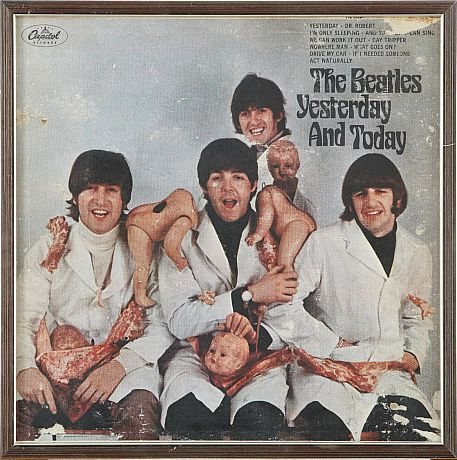 The Beatles Butcher Cover