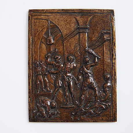 16th century bronze plaquette