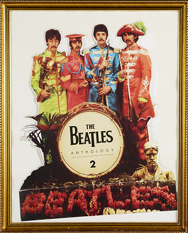 Pop & Rock - The Beatles tavla/butiksmaterial