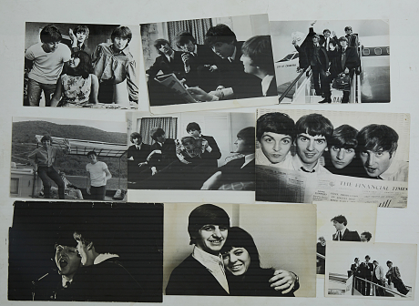 Pop & Rock - fotografier vintage The Beatles