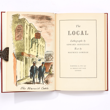 Gorham: The Local with lithos by Ardizzone