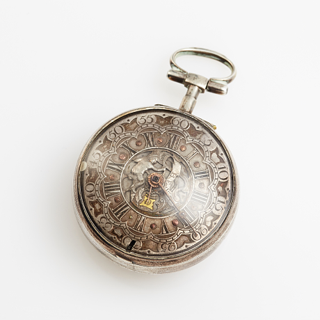 Thomas Best mens pocket watch 18th