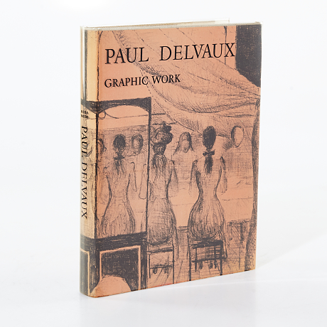 Mira Jacob bok Paul Delvaux - Graphic work