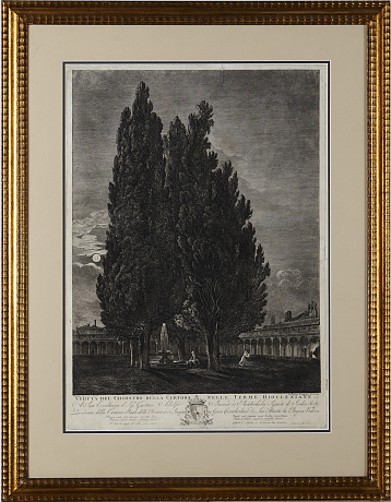 Francesco Piranesi gravyr 1793
