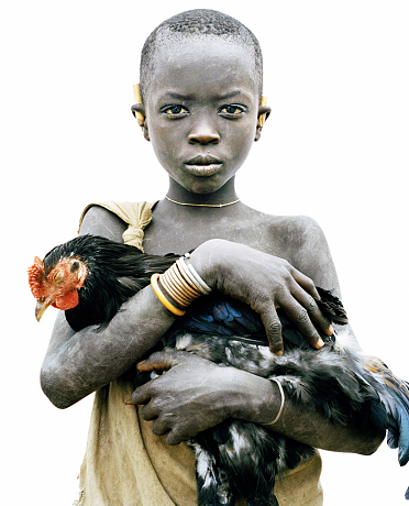NIcholas Södling Boy with Chicken